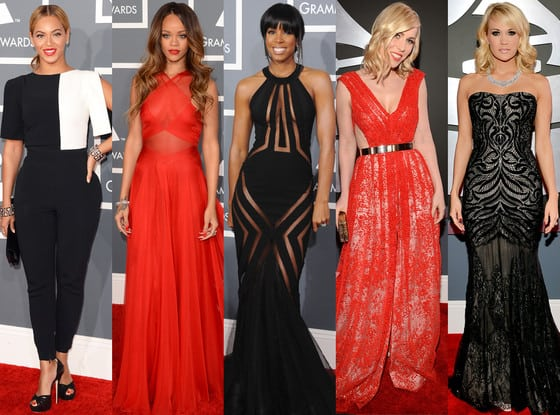 2013 GRAMMY Awards Red Carpet Encore Presentation | Fashion Mingle