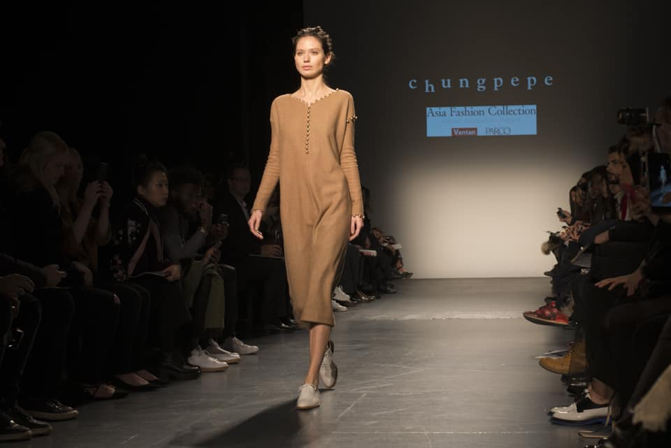 Chungpepe, Asian Fashion Collection at NYFW 2016. Photo by Patrick Hovan.