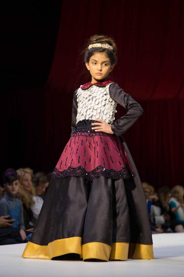 Mini Show Stoppers Work The Style Fashion Week Runway For Nyfw Fall Winter 2016 Fashion Mingle