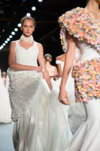 Models walking the runway during the John Paul Ataker NYFW collection