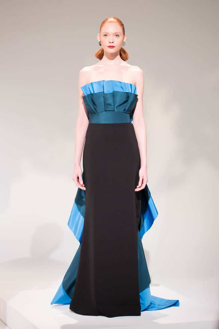 Elizabeth Kennedy Evening Gowns - Fall 2017 NYFW Collection
