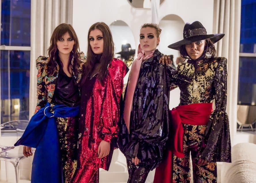 Greta Constantine Fall 2018. New York Fashion Week Photographer: Santino Holnagle