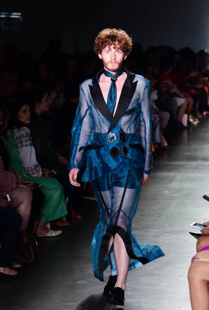 Oxford Fashion Studio present Caroline Perino S/S 2019 Collection. Photographed by Naporje Washington