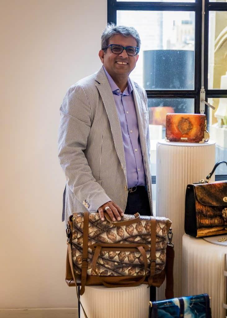 Haresh Mirpuri Brand Founder of ARANYANI Photographed by Santino Holnagel.