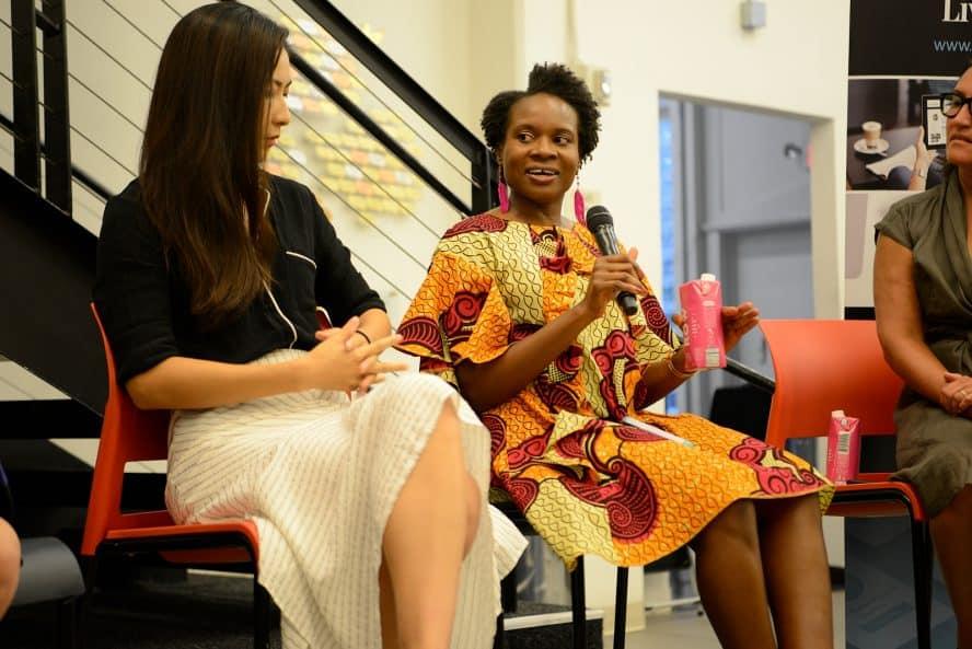 Eldonie Mason at Fashion Mingle's NYFW Influencers Unscripted Panel