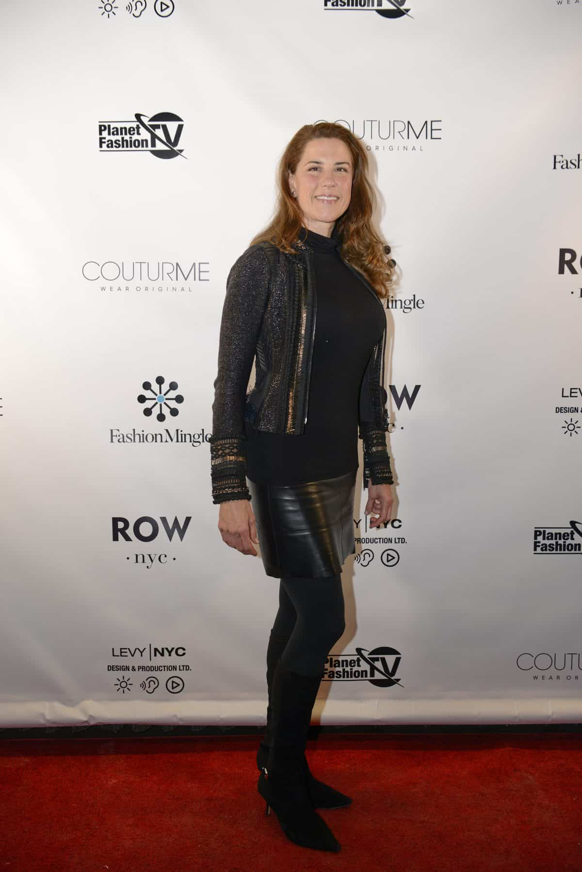 Dale Noelle on our NYFW Networking Party Red Carpet