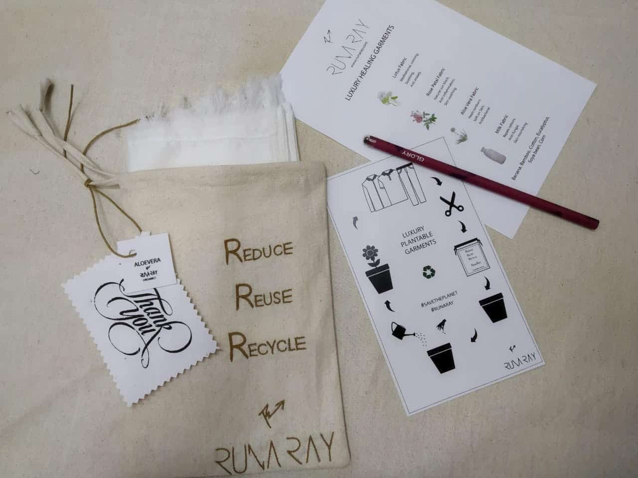 Runa Ray - Sustainable Fashion Designer