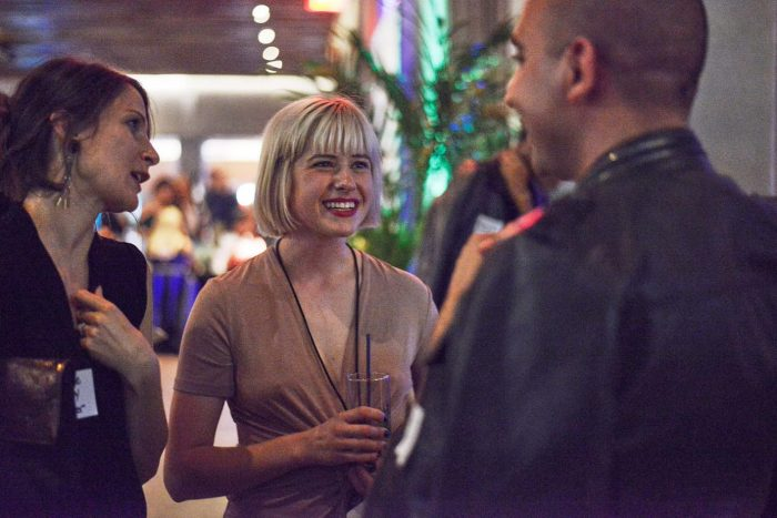 Don't be shy at fashion networking events