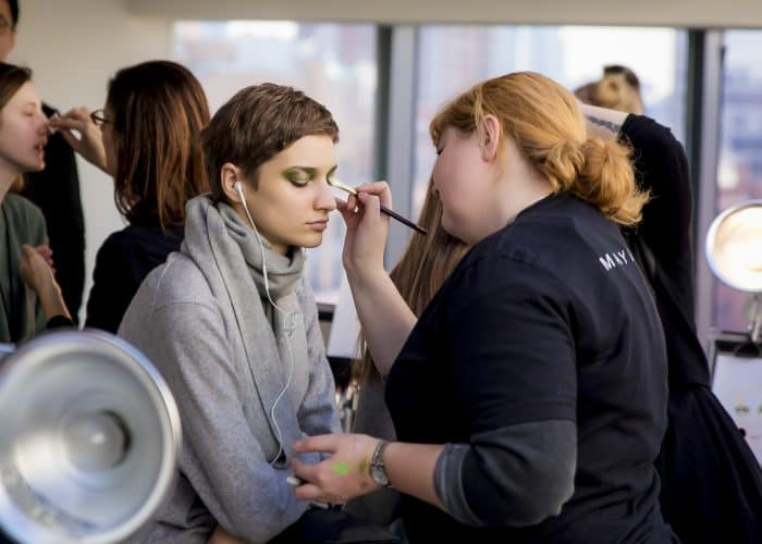 Helping out backstage at fashion shows or at fashion networking events will help you thrive