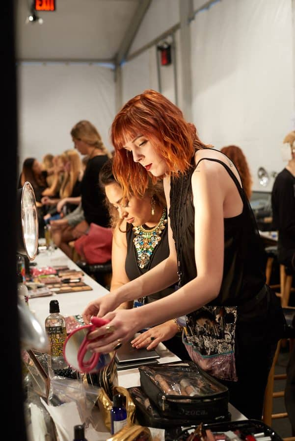 Get a job at NYFW by helping out backstage