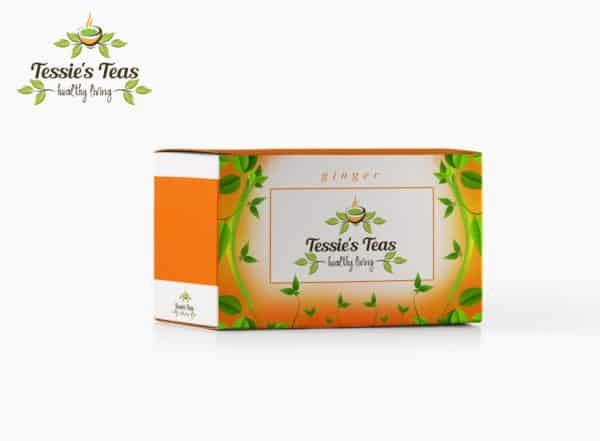 Tessie's Teas - Ginger and Mint flavors