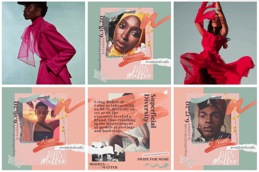 Diversity in the fashion industry - Models of Color Matter