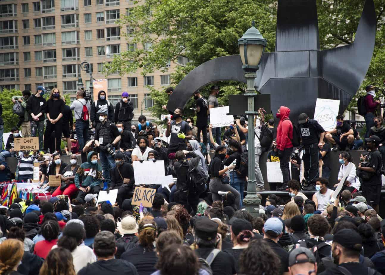Black Lives Matter - Foley Square Rally - Photographer Naporje Washington