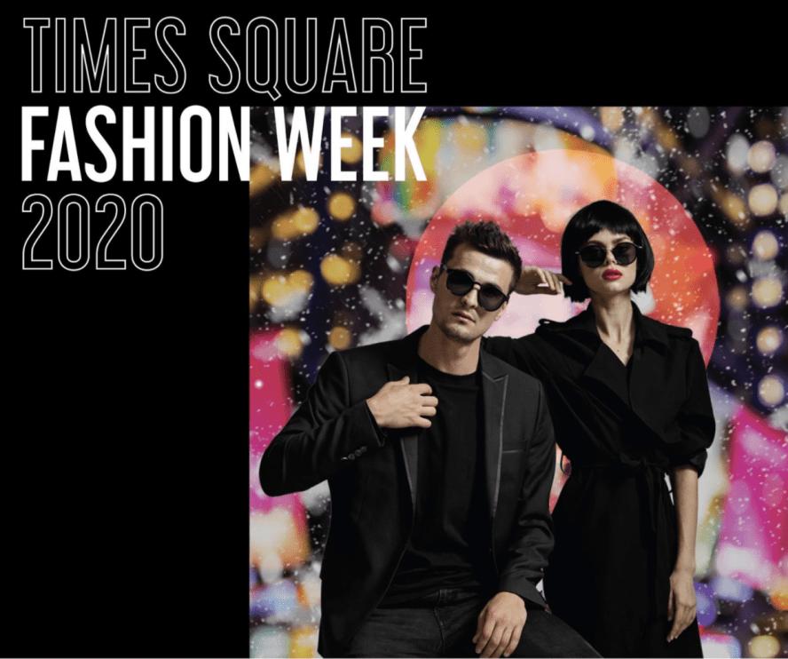 Times Square Fashion Week Logo