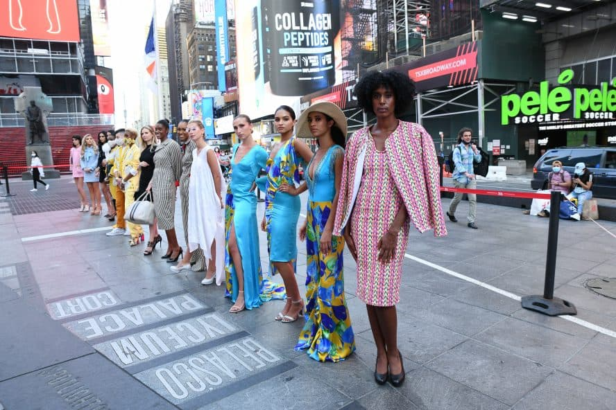 2020 Times Square Fashion Week